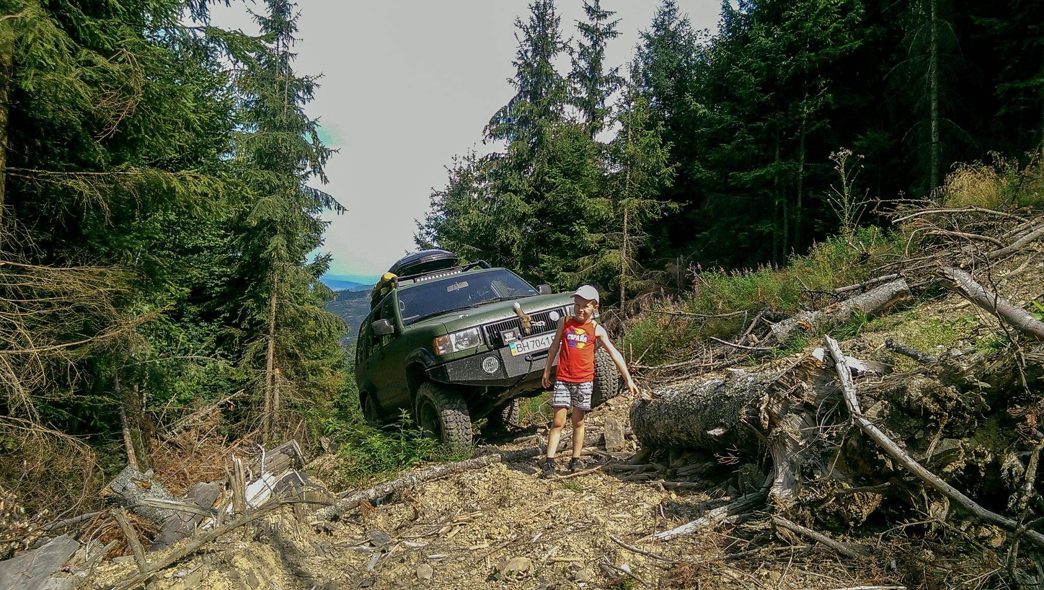 джиппинг в горах